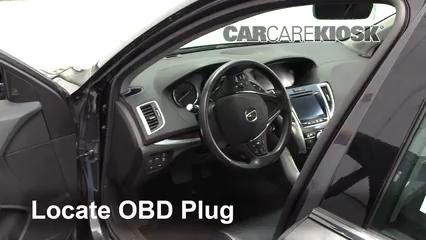 2016 Acura TLX SH-AWD 3.5L V6 Lumière « Check engine » du moteur