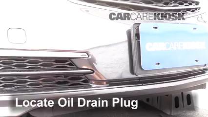 2016 Acura TLX SH-AWD 3.5L V6 Aceite Cambiar aceite y filtro de aceite