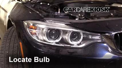 2016 BMW 428i xDrive Gran Coupe 2.0L 4 Cyl. Turbo Hatchback (4 Door) Luces Luz de marcha diurna (reemplazar foco)