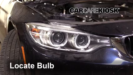 2016 BMW 428i xDrive Gran Coupe 2.0L 4 Cyl. Turbo Hatchback (4 Door) Luces Luz de carretera (reemplazar foco)
