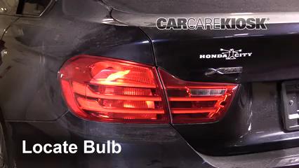 2016 BMW 428i xDrive Gran Coupe 2.0L 4 Cyl. Turbo Hatchback (4 Door) Luces Luz trasera (reemplazar foco)