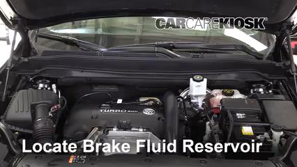 2016 Buick Envision Premium 2.0L 4 Cyl. Turbo Líquido de frenos