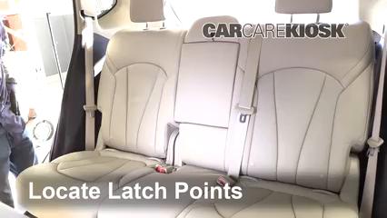 2016 Buick Envision Premium 2.0L 4 Cyl. Turbo Asientos de Carro
