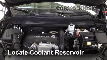 2016 Buick Envision Premium 2.0L 4 Cyl. Turbo Pérdidas de líquido