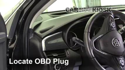 2016 Buick Envision Premium 2.0L 4 Cyl. Turbo Compruebe la luz del motor