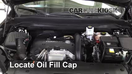 2016 Buick Envision Premium 2.0L 4 Cyl. Turbo Aceite