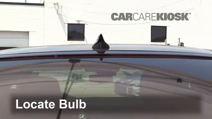 2016 Cadillac CT6 Premium Luxury 3.0L V6 Turbo Luces Luz de freno central (reemplazar foco)