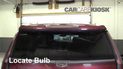 2016 Cadillac Escalade ESV Luxury 6.2L V8 FlexFuel Lights Center Brake Light (replace bulb)