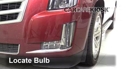 2016 Cadillac Escalade ESV Luxury 6.2L V8 FlexFuel Lights Turn Signal - Front (replace bulb)