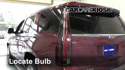 2016 Cadillac Escalade ESV Luxury 6.2L V8 FlexFuel Lights Turn Signal - Rear (replace bulb)