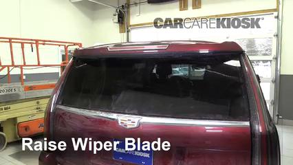 2016 Cadillac Escalade ESV Luxury 6.2L V8 FlexFuel Escobillas de limpiaparabrisas trasero