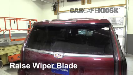 2016 Cadillac Escalade ESV Luxury 6.2L V8 FlexFuel Windshield Wiper Blade (Rear) Replace Wiper Blade