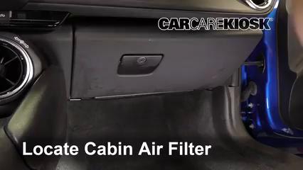 2016 Chevrolet Camaro LT 3.6L V6 Filtre à air (intérieur)