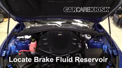 2016 Chevrolet Camaro LT 3.6L V6 Liquide de frein