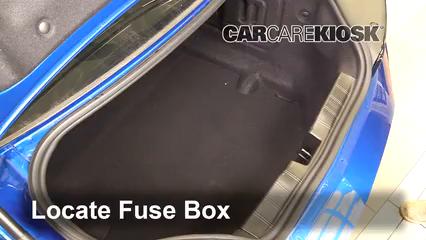 2016 Chevrolet Camaro LT 3.6L V6 Fusible (intérieur)
