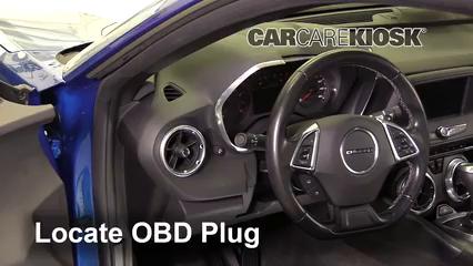 2016 Chevrolet Camaro LT 3.6L V6 Lumière « Check engine » du moteur