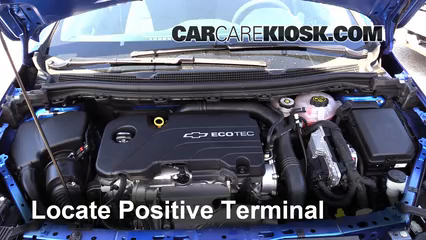 2016 Chevrolet Cruze LT 1.4L 4 Cyl. Turbo Battery Jumpstart