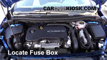 2016 Chevrolet Cruze LT 1.4L 4 Cyl. Turbo Fusible (motor) Control