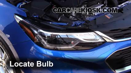 2016 Chevrolet Cruze LT 1.4L 4 Cyl. Turbo Lights Parking Light (replace bulb)