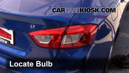 2016 Chevrolet Cruze LT 1.4L 4 Cyl. Turbo Luces Luz de reversa (reemplazar foco)