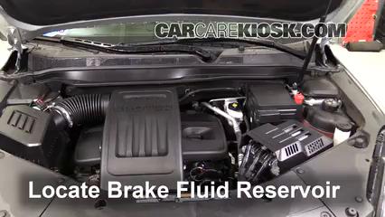 2016 Chevrolet Equinox LT 2.4L 4 Cyl. Líquido de frenos