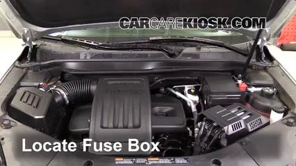 2016 Chevrolet Equinox LT 2.4L 4 Cyl. Fusible (motor)