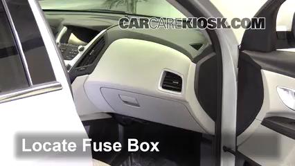 2016 Chevrolet Equinox LT 2.4L 4 Cyl. Fusible (interior)