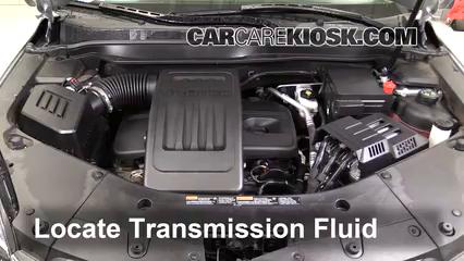 2016 Chevrolet Equinox LT 2.4L 4 Cyl. Líquido de transmisión