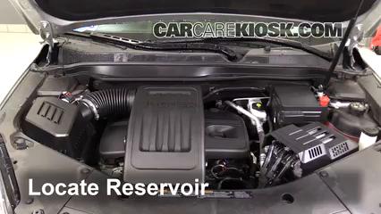 2016 Chevrolet Equinox LT 2.4L 4 Cyl. Líquido limpiaparabrisas