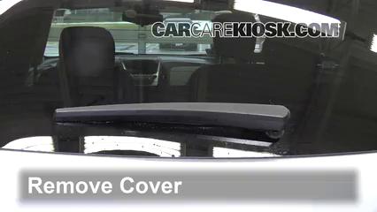 2016 Chevrolet Equinox LT 2.4L 4 Cyl. Escobillas de limpiaparabrisas trasero