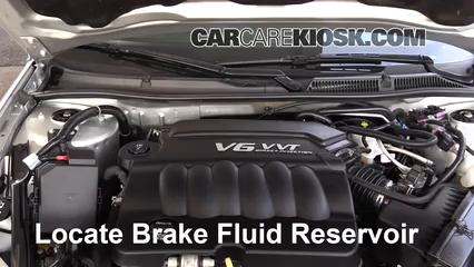 2016 Chevrolet Impala Limited LS 3.6L V6 FlexFuel Liquide de frein