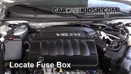 2016 Chevrolet Impala Limited LS 3.6L V6 FlexFuel Fusible (moteur)