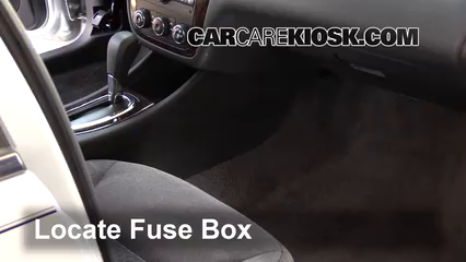 2016 Chevrolet Impala Limited LS 3.6L V6 FlexFuel Fusible (intérieur)