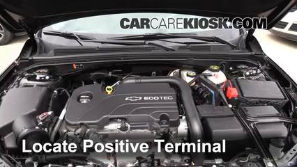 2016 Chevrolet Malibu LT 1.5L 4 Cyl. Turbo Battery Jumpstart