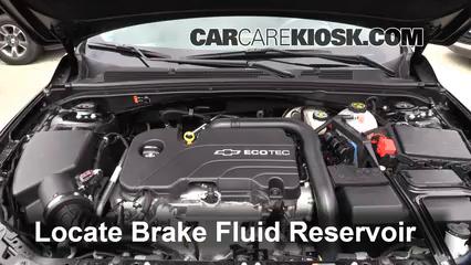2016 Chevrolet Malibu LT 1.5L 4 Cyl. Turbo Brake Fluid