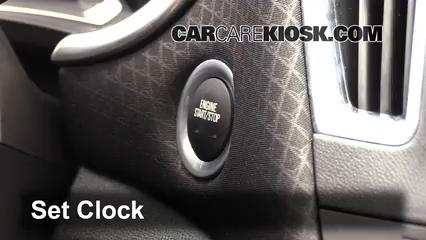 2016 Chevrolet Malibu LT 1.5L 4 Cyl. Turbo Clock