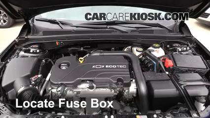 2016 Chevrolet Malibu LT 1.5L 4 Cyl. Turbo Fuse (Engine)