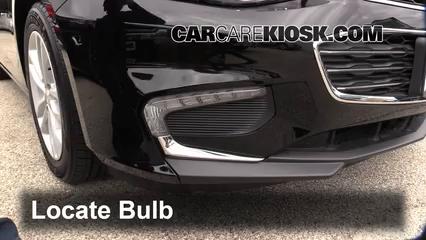 2016 Chevrolet Malibu LT 1.5L 4 Cyl. Turbo Lights Daytime Running Light (replace bulb)