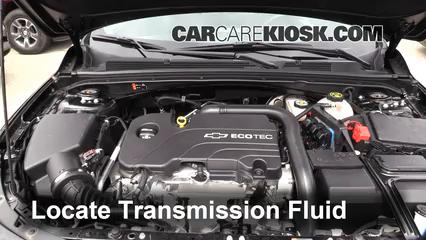 2016 Chevrolet Malibu LT 1.5L 4 Cyl. Turbo Transmission Fluid
