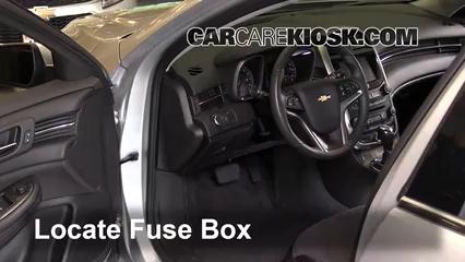 2016 Chevrolet Malibu Limited LT 2.5L 4 Cyl. Fusible (intérieur)