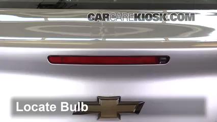 2016 Chevrolet Malibu Limited LT 2.5L 4 Cyl. Luces Luz de freno central (reemplazar foco)