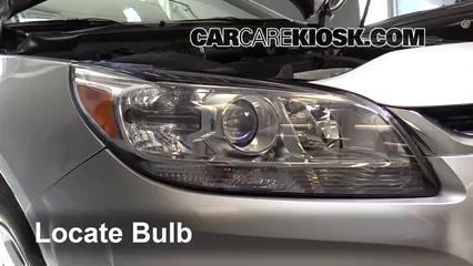2016 Chevrolet Malibu Limited LT 2.5L 4 Cyl. Luces Faro delantero (reemplazar foco)