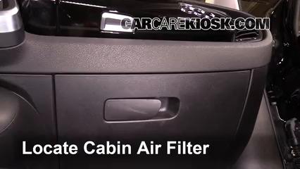 2016 Fiat 500X Easy 2.4L 4 Cyl. Filtre à air (intérieur)