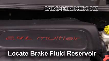 2016 Fiat 500X Easy 2.4L 4 Cyl. Liquide de frein