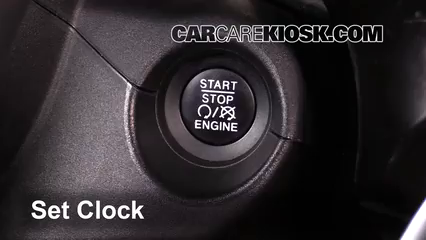 2016 Fiat 500X Easy 2.4L 4 Cyl. Horloge