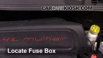 2016 Fiat 500X Easy 2.4L 4 Cyl. Fusible (moteur)