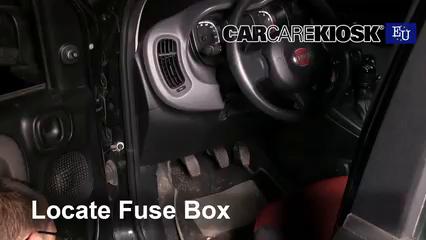 2016 Fiat Panda Pop 1.2L 4 Cyl. Fusible (intérieur)