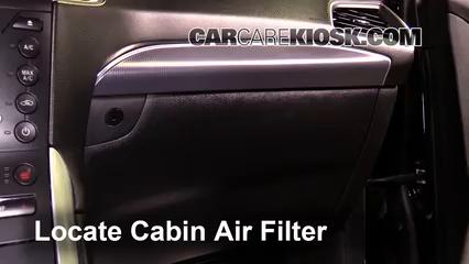 2016 Ford Edge Titanium 2.0L 4 Cyl. Turbo Filtro de aire (interior) Control