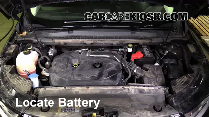 2016 Ford Edge Titanium 2.0L 4 Cyl. Turbo Battery Replace