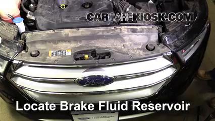 2016 Ford Edge Titanium 2.0L 4 Cyl. Turbo Brake Fluid